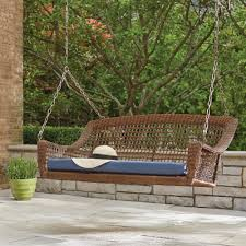 Patio Furniture From Walmart - trex outdoor furniture yacht club classic white patio swing