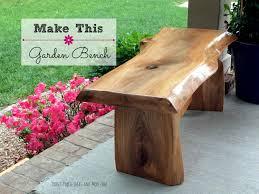 Build Wood Garden Bench by Diy Garden Bench Youtube