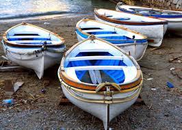 nautical home decor italy print capri boats italian beach