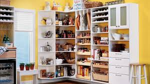 charming white corner pantry organizing kitchen youtube