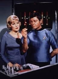 Christine Chapel Played by: Majel Barrett Roddenberry