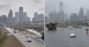 underwater metropolis photos of houston before and after historic underwater metropolis photos of houston before and after historic flooding