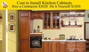 price to install kitchen cabinets alkamedia com