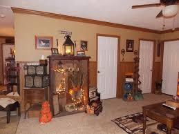 primitive decor living room manufactured home decorating ideas