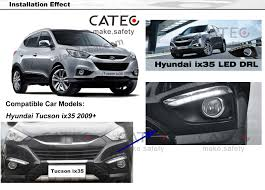 nissan altima 2013 accessories car led driving lights with fog lamps frame car accessories for