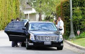 photo of Adam Sandler Cadillac DTS  - car