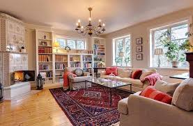 Decorating Country Homes Colorful Country Home Decorating Ideas In Scandinavian Style