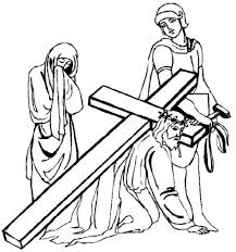 black and white drawings of jesus free download clip art free