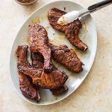 sweet and tangy grilled country style pork ribs america u0027s test
