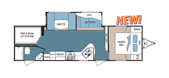 Fifth Wheel Bunkhouse Floor Plans Denali Rv Floorplans And Pictures