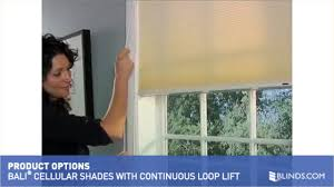 bali cellular shades with continuous loop lift u0026raquo