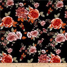 ponte de roma floral prints navy orange ivory discount designer