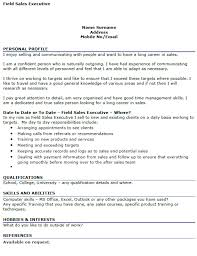 Lables of resume of a sales executive qhtyp com