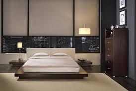 Bedroom Modern Furniture Masculine Bedroom Design White Rug Yellow Table Lamp Beig White