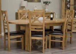 solid oak oval extending dining table with inspiration photo 7667
