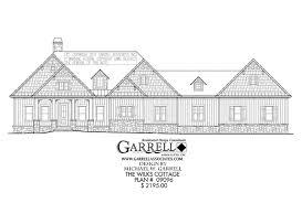 wilks cottage house plan house plans by garrell associates inc