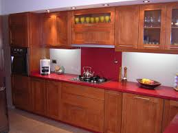 incredible wooden wardrobe for kitchen design with red marble