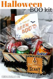 Halloween Gift Basket by Halloween Boo Kit With Printable Easy Halloween Walmart And