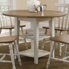 Round Dining Table Sets For 6 Round Dining Table Set With Leaf Homesfeed