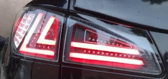 lexus is250 f sport for sale uk 2006 lexus is250 is350 custom tail lights led bars ebay isx youtube