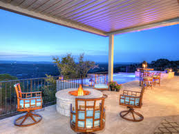 Outdoor Patio With Roof by Outdoor Fire Pits And Fire Pit Safety Hgtv