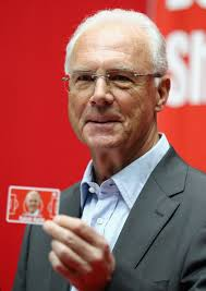 Franz Beckenbauer Visits Axel Springer Publishing House Berlin - Franz Beckenbauer Visits Axel Springer Publishing oYgiHAgEoC6l