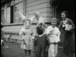 1920 Halloween Costumes Child Halloween Costumes Japan 1920 1929 Sd Stock Video
