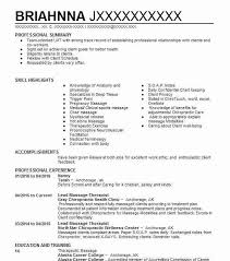 Resume For Nanny Job by Best Lead Massage Therapist Resume Example Livecareer