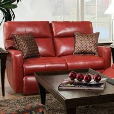 red leather loveseat recliner red loveseat recliner cortez power