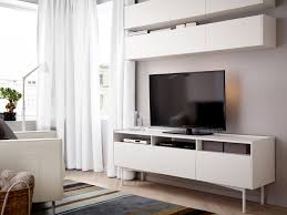 living room furniture ideas ikea living room with wall cabinets and bench all white