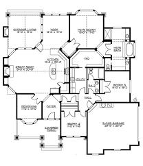 Floor Plan House 3 Bedroom Craftsman 3 Beds 2 Baths 2320 Sq Ft Plan 132 200 Main Floor Plan