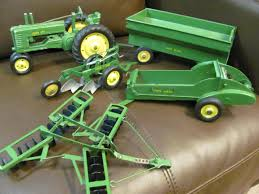 get on that john deere tractor and hook up that disc so you can go