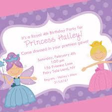 1st Year Baby Birthday Invitation Cards Princess Birthday Party Invitation Wording Cimvitation