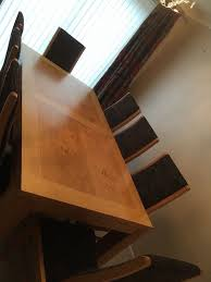solid oak dining room table 8 chairs in liverpool merseyside