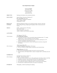 Mba Sample Resume by Sample Resume For Finance Internship Best Free Resume Collection