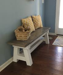 White Entryway Table by Beach Bench Do It Yourself Home Projects From Ana White Entry