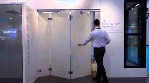 Interior Frameless Glass Door by Bi Folding Frameless Doors From Esg Featuring Esg Switchable Lcd