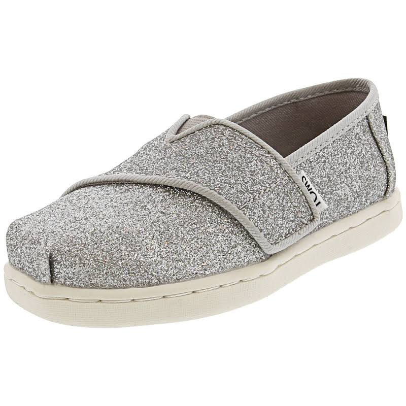 Toms Classic Ankle-High Slip-On Shoes 4M Shine