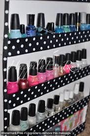 diy nail polish rack u2013 happilyeverose