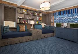 Two Twin Beds In Small Bedroom Bedroom Fantastic White Drum Ceiling Lamp Under Blue Bedroom