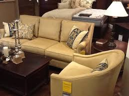 Thomasville Ashby Sofa by Sofa Beige Thomasville Sofas With Dark Wood Coffee Table And End