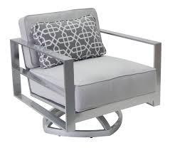 Club Swivel Chair Sunnyland Patio Furniture Horizons Cushion Club Swivel Chair By