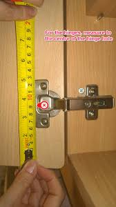 Kitchen Cabinet Hinges Uk How To Measure For Replacement Kitchen Cabinet Doors Just Doors