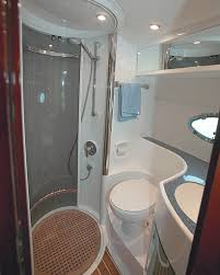 small bathroom the interior is small and cozy boat interior design