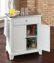 buy newport stainless steel top portable kitchen island