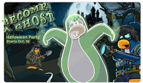 pre halloween party club penguin u0027s halloween party gets spookier with disney parks