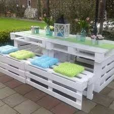Build Wood Garden Bench by Best 25 Pallet Table Outdoor Ideas On Pinterest Diy Pallet