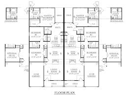 House Plans With 3 Car Garage by Houseplans Biz House Plan D1392 D Duplex 1392 D