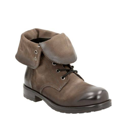 Clarks Minoa River Booties Taupe- Womens