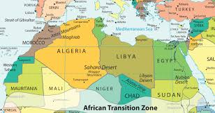Physical Map Of Africa by 8 3 North Africa And The African Transition Zone World Regional